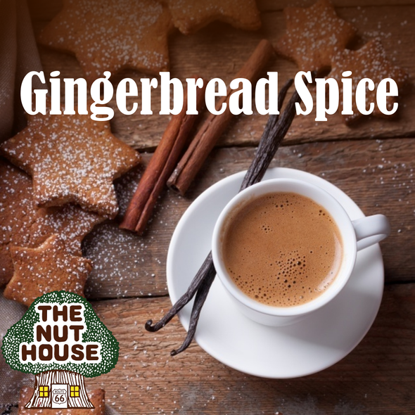 All the classic gingerbread spices together in this aromatic holiday blend.