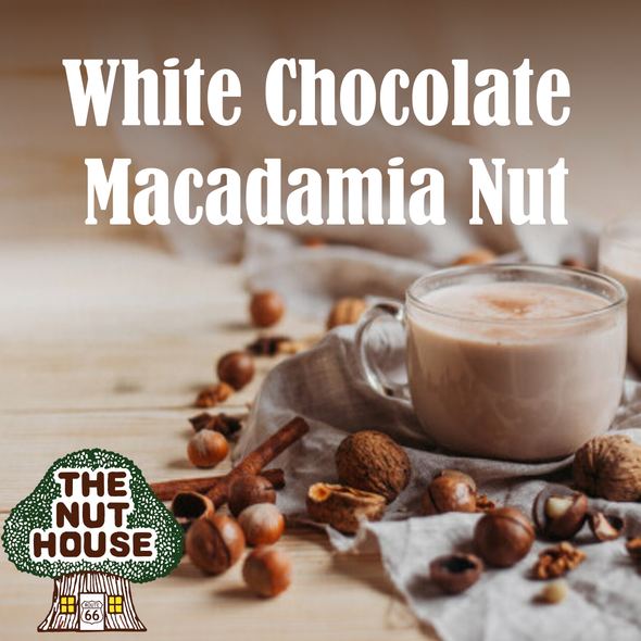 White Chocolate Macadamia Nut coffee at the Nut House