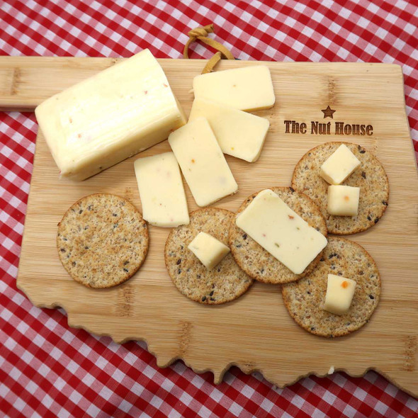 Shelf Stable Hot Pepper Cheese 8 oz Cheese The Nut House
