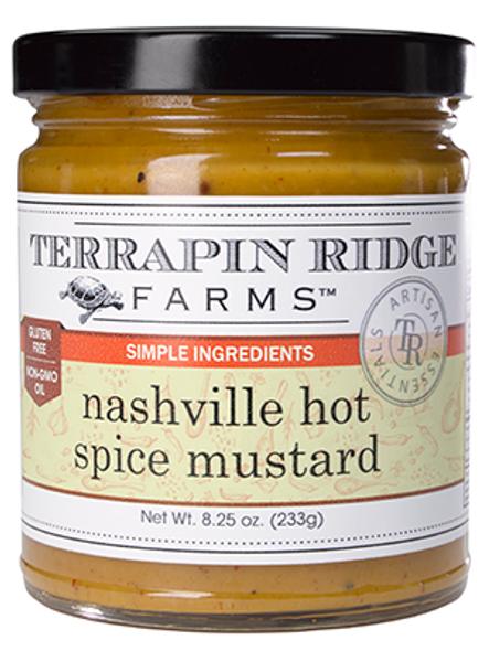 NASHVILLE HOT MUSTARD by Terrapin Ridge Farms
