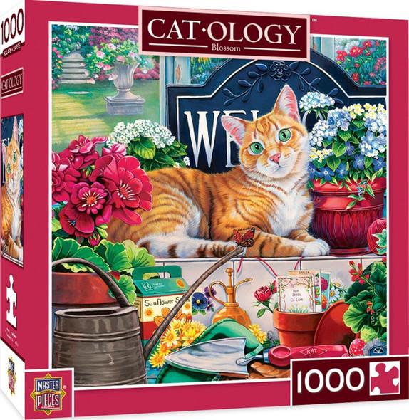 Blossom Catology puzzle by Jenny Newland