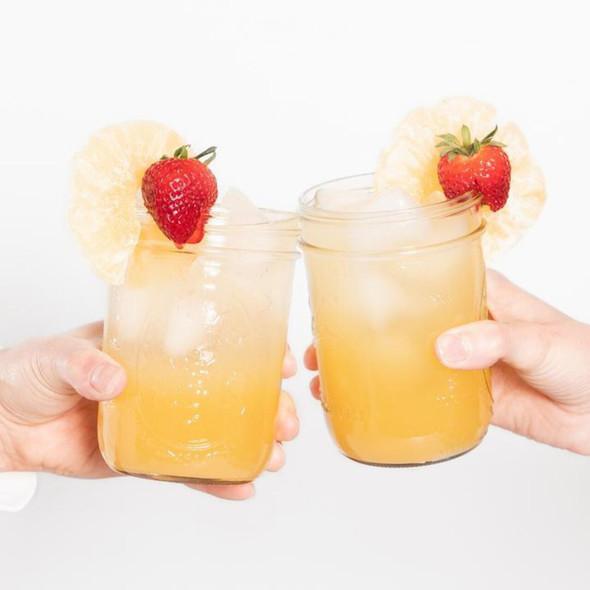Rhubarb And Honey Shrub Botanical Drink Syrup
