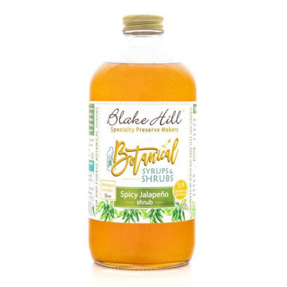 Spicy Jalapeno Botanical Drink Syrup Honey and Syrups The Nut House