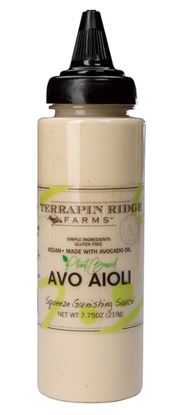 This plant-based, vegan aioli has smooth creamy flavor like no other. Perfect used in salads or drizzled over Roasted Cauliflower and Egg Plant. Use in wraps, veggie burgers or veggie tacos. Add your favorite spices and create your own dip for chips and crudité.