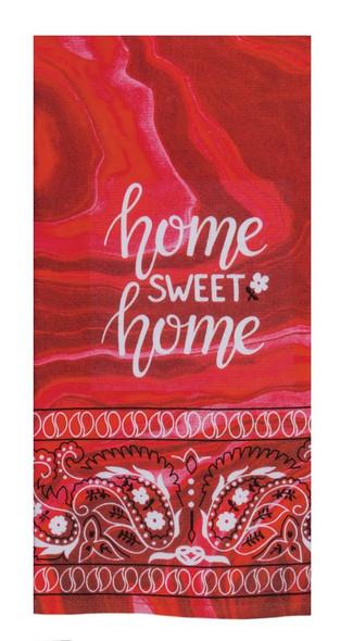 Home Sweet Home Dual Purpose Terry Towel