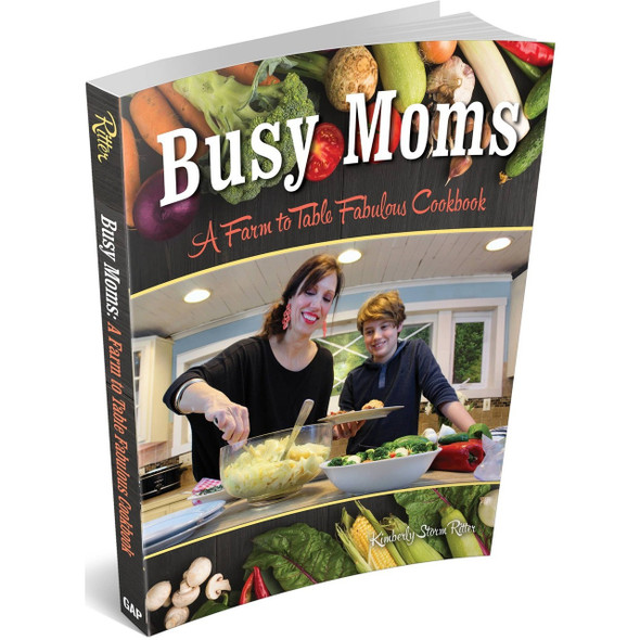 From slow-cooker creations to one-pot meals to air fryer treats, this cookbook has it all. Featuring over 100 step-by-step, easy-to-follow recipes that are perfect for moms on a schedule, you can plan a complete meal using the freshest ingredients any night of the week. Made in United States of America