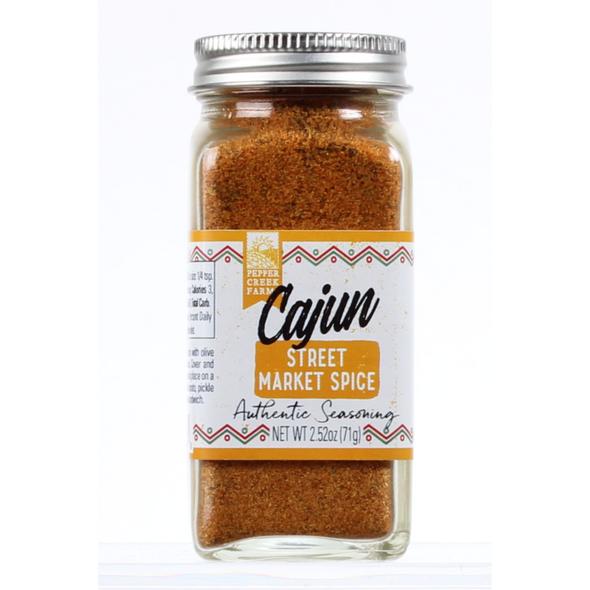Cajun Street Market Spice 2.5 Oz Made in Oklahoma The Nut House