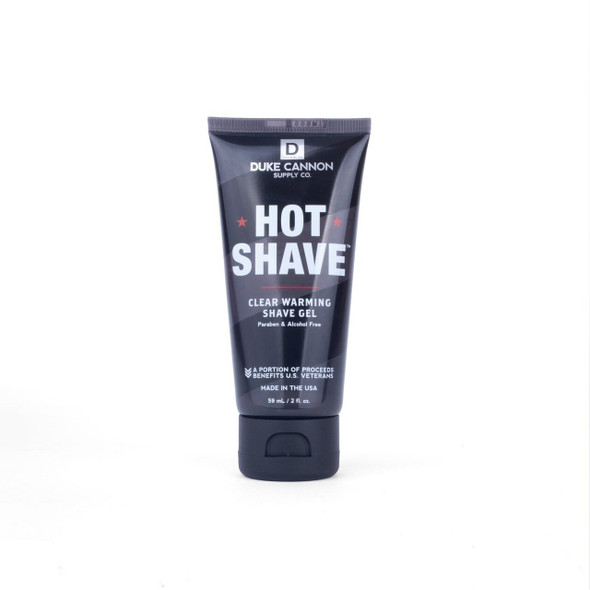 Hot Shave helps deliver the closet possible shave. Warming sensation opens the pores, softens and lubricates your skin for precise, comfortable razor blade strokes.