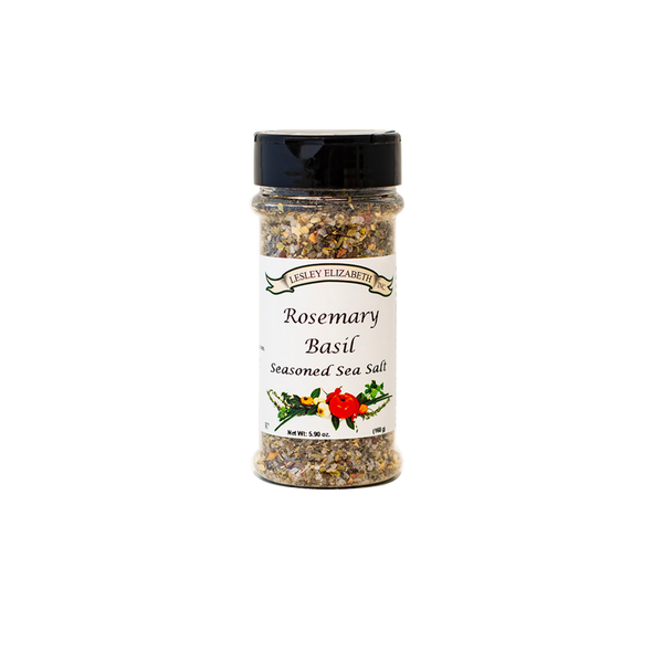 HOW BEST TO USE For a rub simply drizzle poultry, pork or vegetables with oil and sprinkle generously with Rosemary & Basil Seasoned Salt.  MARINADE: Use Seasoned Salt in place of table salt to any marinade.  INGREDIENTS: Sea Salt, Black Pepper, Garlic, Sugar, Basil, Rosemary, Onion, Crushed Red Pepper, Bell Pepper, Italian Seasoning.