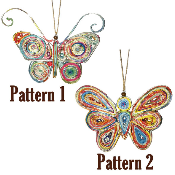 Butterfly Quillin Ornament