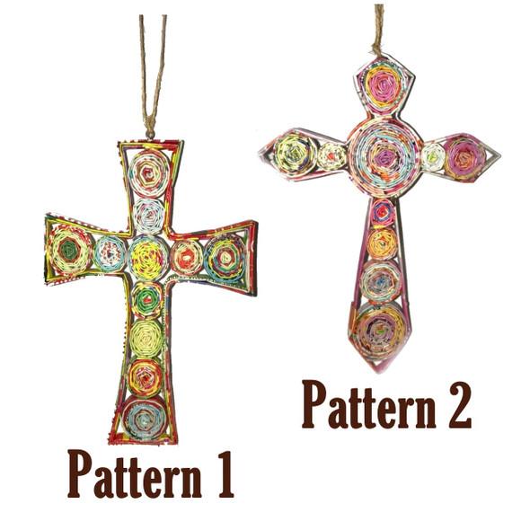 Cross Quillin Ornament