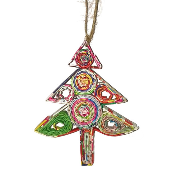 Christmas Tree Quillin Ornament