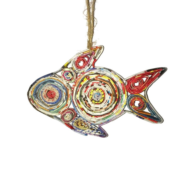 Fish Quillin Ornament