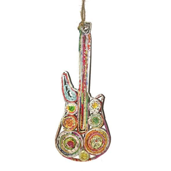 Guitar Quillin Ornament