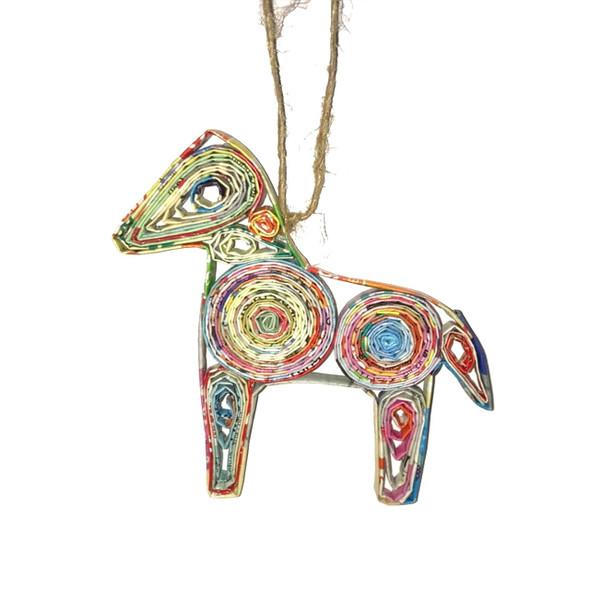 Horse Quillin Ornament