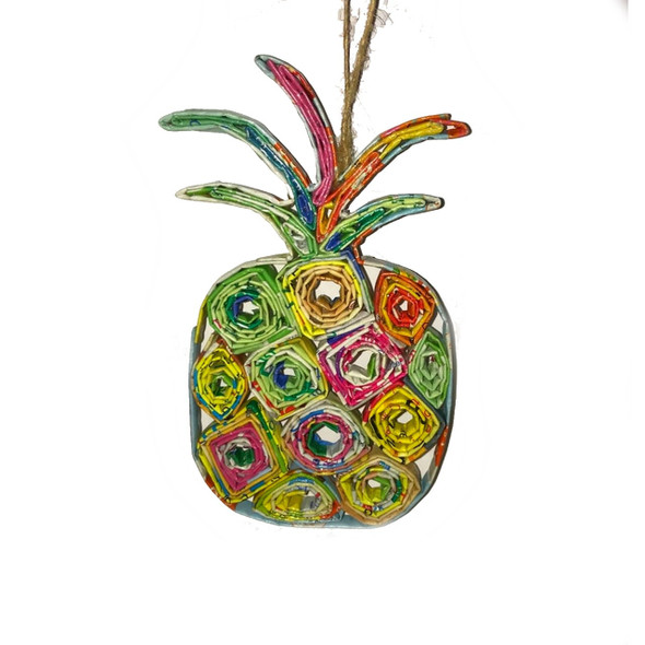 Pineapple Quillin Ornament