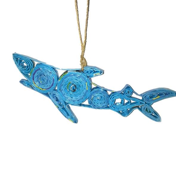 Shark Quillin Ornament