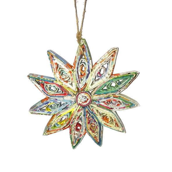 Snowflake Quillin Ornament