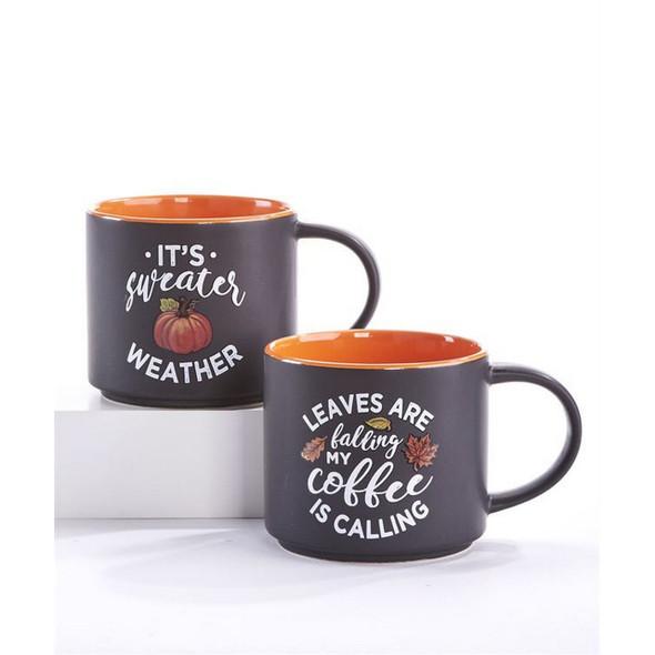 Autumn Themed Ceramic Mug
