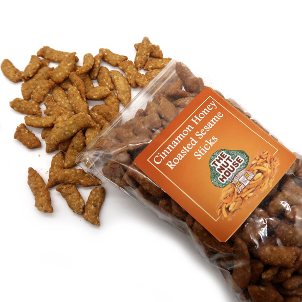 Cinnamon Honey Roasted Sesame Sticks 10 oz