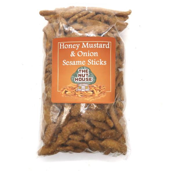 Honey Mustard and Onion Sesame Sticks 10 oz