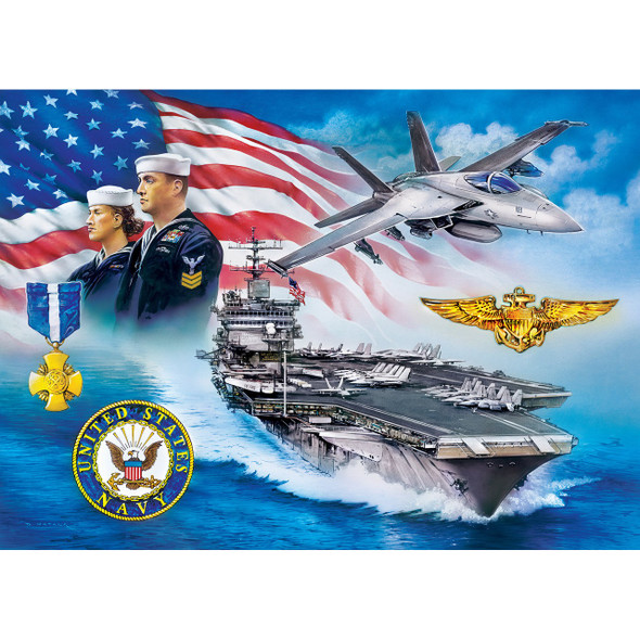 U.S. Navy - 1000pc Puzzle