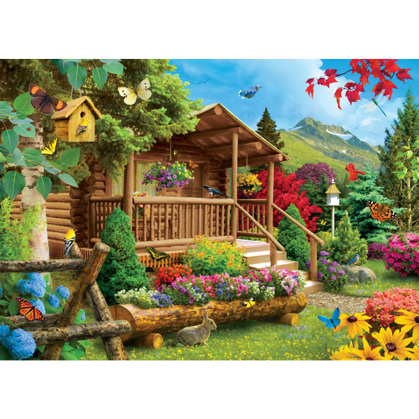 Summerscape Time Away Masterpieces 1000 piece puzzle idyllic vacation scenery