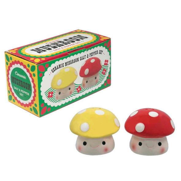 Mushroom Salt and Pepper Shakers