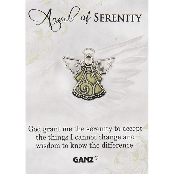 Angel of Serenity Pin