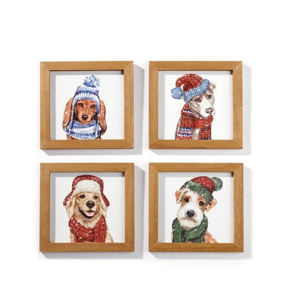 Christmas Dog Wall Art