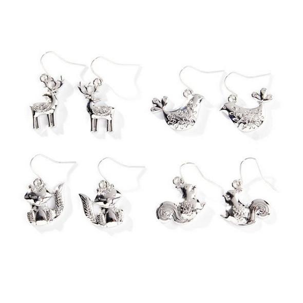 Christmas Animal Earrings