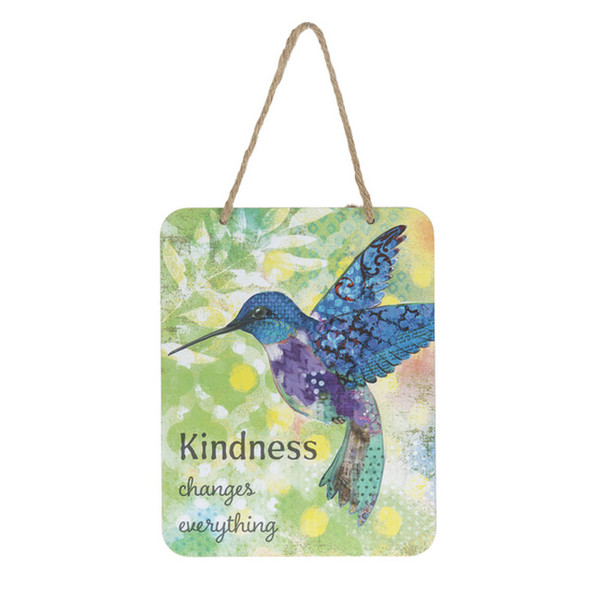 Kindness Changes Everything Bird Sign