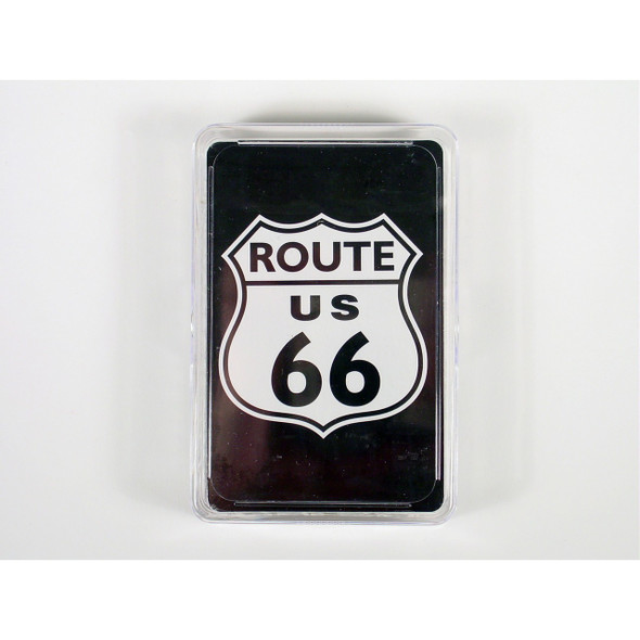 Route 66 Playing Cards in Plastic Box