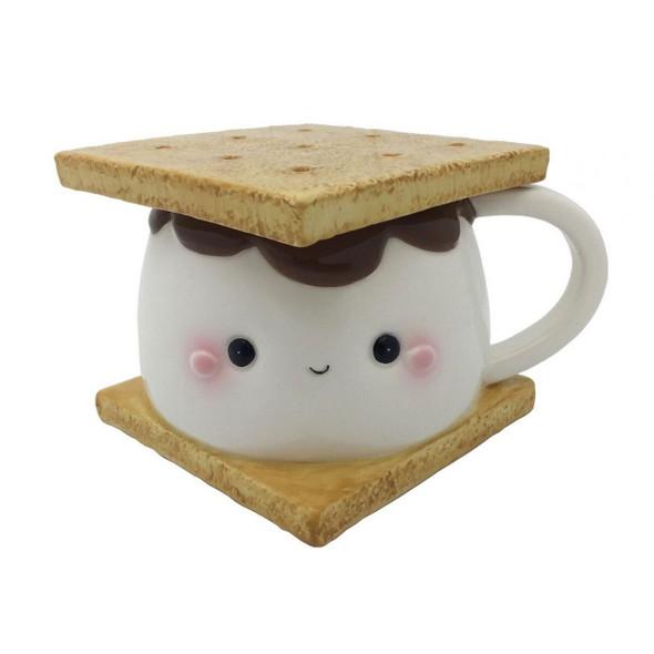 Marshmallow Smore Mug with Lid
