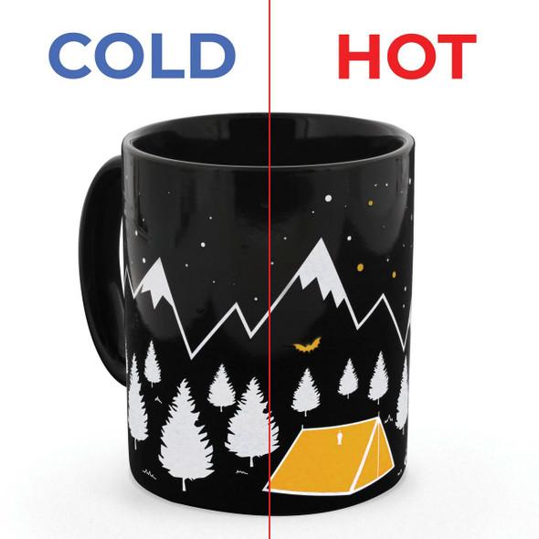 Campers Heat Changing Mug
