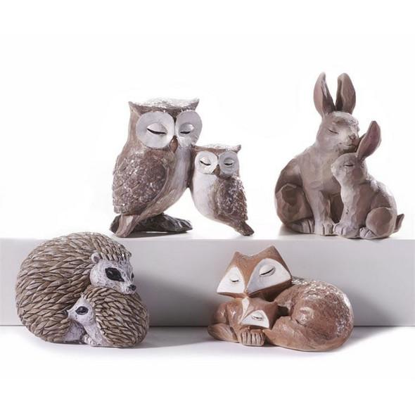 Animal Family Figurine