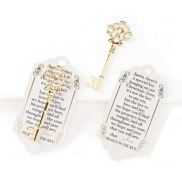 Golden Key Ornament