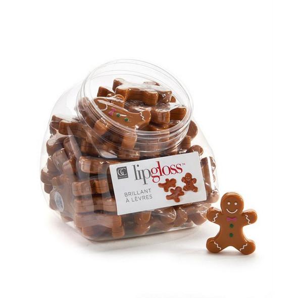 Gingerbread Man Design Lip Gloss