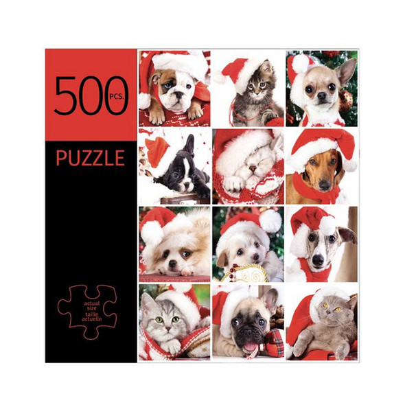 Holiday Pet Design Puzzle