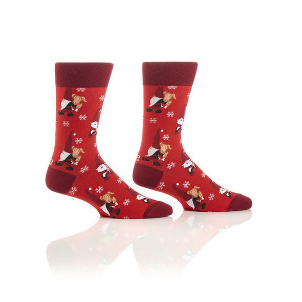 Gnome for the Holidays Crew Socks