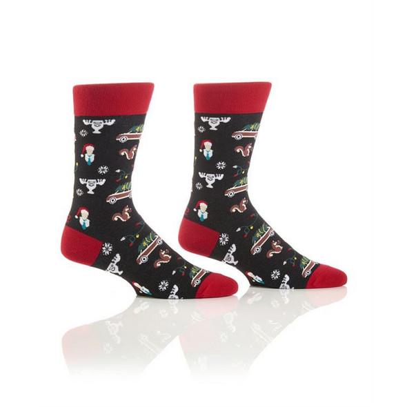 Christmas Time Holiday Crew Socks