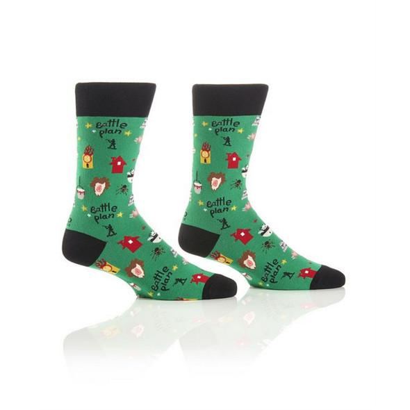 Christmas Prank Holiday Crew Socks