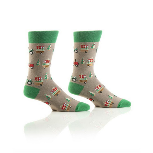 Christmas on the Farm Holiday Crew Socks