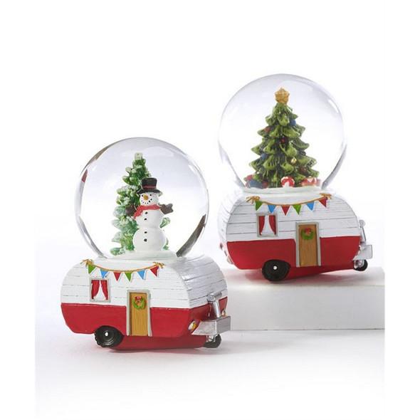 Mini Camper Snow Globe