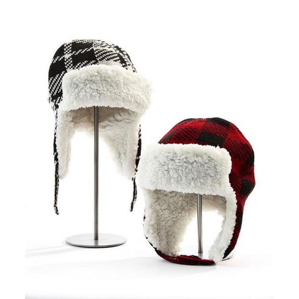 Plaid Trapper Hat