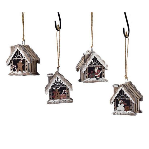 Cabin Design Ornament