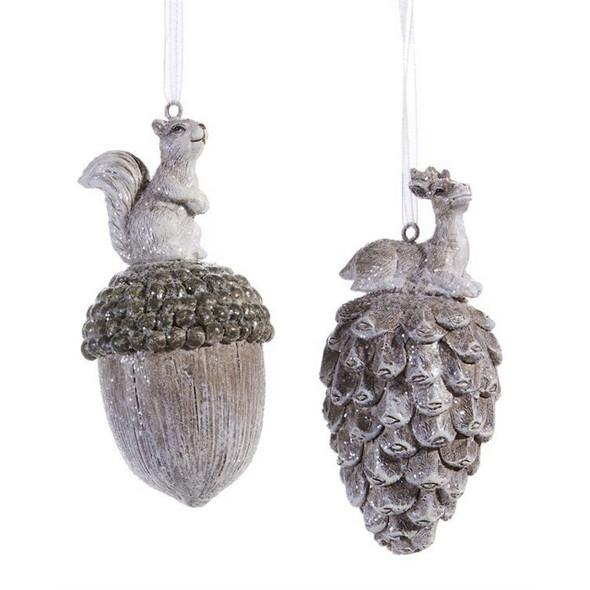 Acorn or Pinecone Ornament