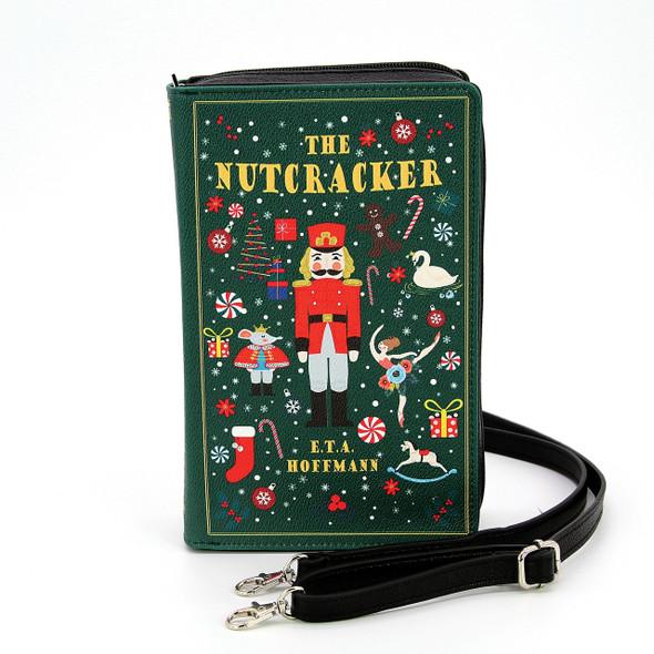 Nutcracker Book Clutch Bag