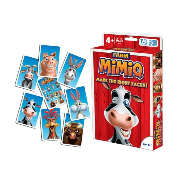 Mimiq Farm Card Game