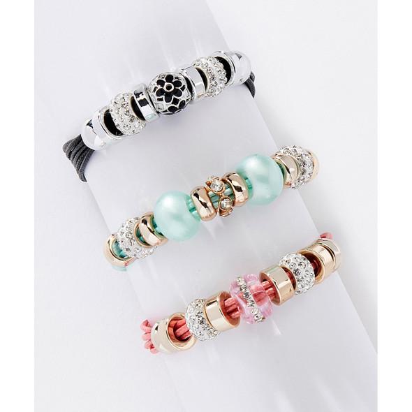 Glass Bead Bracelet